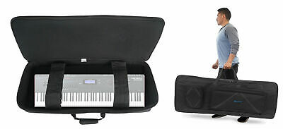 Rockville Padded Keyboard Gig Bag Case For KURZWEIL FORTE SE 88-KEY STAGE PIANO • 57.46£