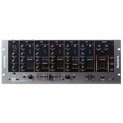 Numark DJ C3 USB Professional 5 Channel Mobile Disco 19  Rack Mixer With USB I/O • 239£
