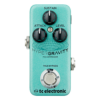 TC Electronic HyperGravity Mini - Multi-Band Compressor Pedal • 82.99£
