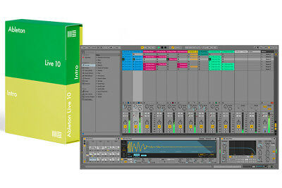 Ableton Live 10 Intro DAW Software Download • 83.56£