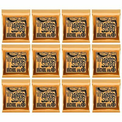12 X Ernie Ball Hybrid Slinky Electric Guitar Strings P/n 2222. 12 X SETS • 69.95£