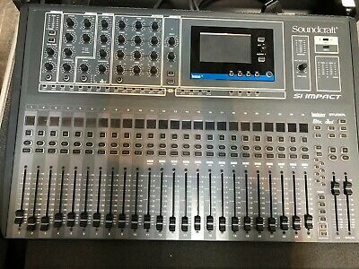 Soundcraft Si Impact Mixing Desk With 32ch Stage Box (incl Flightcase)  • 2,100£