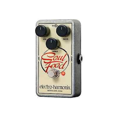 Electro-Harmonix Soul Food – Transparent Overdrive Pedal • 74£