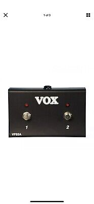Vox VFS2A Dual Guitar Footswitch • 15.01£