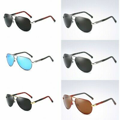 HD Polarized Photochromic Aluminium Sunglasses Pilot Men Driving Glasses Eyewear • 9.98£