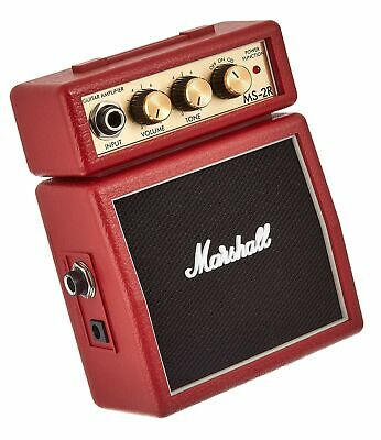 Marshall Amp MS2 Mini Amp: Red • 42.19£