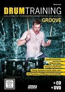 Drum Training Groove + CD + DVD: Das Ultimative ... | Book | Condition Very Good • 10.46£