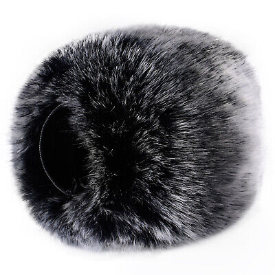 Neewer Outdoor Microphone Furry Windscreen Muff For Zoom H4n, H5, H6 • 9.99£