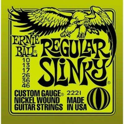 Ernie Ball 2221 Regular Slinky Electric Guitar Strings • 11.66£