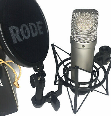Rode NT1-A Studio Condenser Microphone Complete Vocal Recording Solution Kit Set • 179.99£