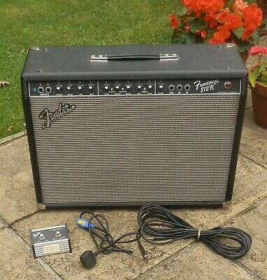 Fender Frontman 212R 100W Guitar Combo Amp,Solid State With Footswitch Serviced • 169.95£