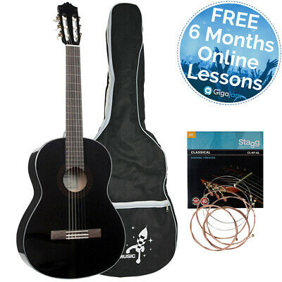 Yamaha C40BL Full Size Classical Guitar Package • 173.46£