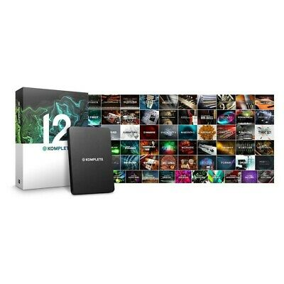 Native Instruments Komplete 12 Production Software & Free/UPG To Komplete 13 • 319£
