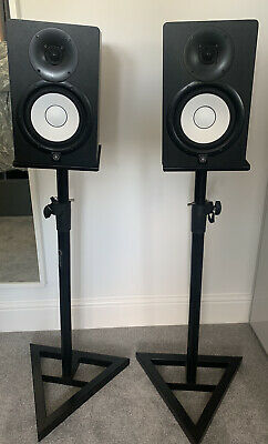 Yamaha HS7 Active Studio Monitor Speakers (Pair) + Stands • 200£