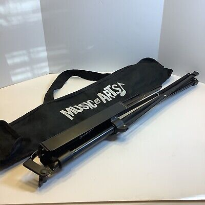 On-Stage Compact Folding Music Stand Black SM7122BB With Bag, Clean, Nice • 9.40£
