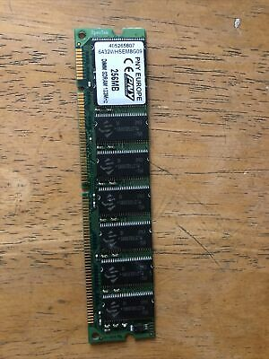 256MB PC133 133MHz 168-PIN DIMM RAM FOR ROLAND FANTOM S Xa XR G6 X6 G7 X7 G8 X8 • 15£