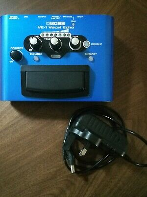 Boss Vocal Effects And Enhancer VE-1 & Power Supply • 80£