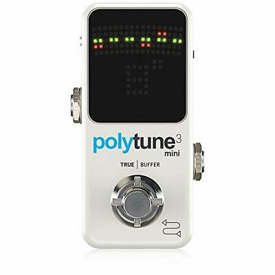 Tc Electronic Polyphonic Mini Tuner Polytune 3 Mini • 105.14£