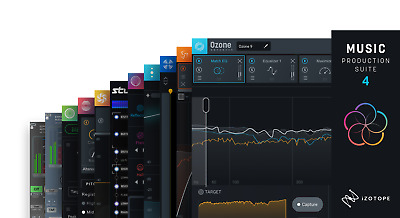 Izotope 10-mps4 Music Production Suite 4 Software Musicali