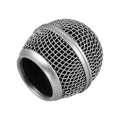 Microphone Grille Replacement Ball Head Compatible With Shure SM58/SM58S Y8F0 • 4.43£