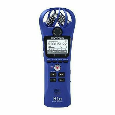 ZOOM H1n Linear PCM Handy Recorder H1n/L Blue Limited Color W/ Tracking • 86.90£