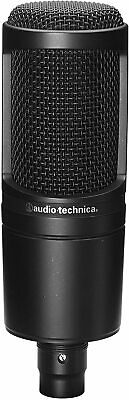 Audio-Technica Condenser Microphone AT2020 Black From JAPAN • 148.60£
