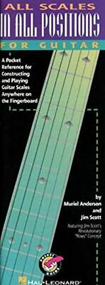 All Scales In All Positions For Guitar Tab By Va... | Book | Condition Very Good • 6.77£