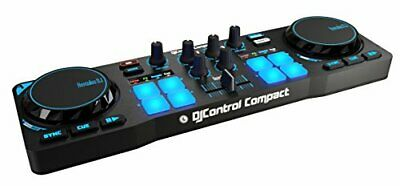 Hercules DJControl Compact, The most complete and portable DJ controller