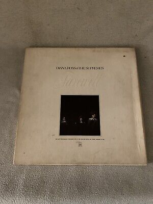 """DIANA ROSS & The SUPREMES """"Farewell"""" MS2-708 LP Limited Edition Box Set W/ Book • 4.25£"""