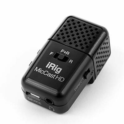 IK Multimedia iRig Mic Cast HD   Dual-sided digital voice microphone for iPhone