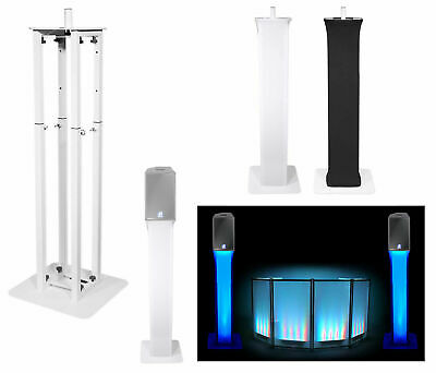 (1) Rockville White Totem Stand For dB Technologies Flexsys f8 8