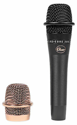 Blue Encore 200 Black Handheld Microphone Mic For Church Sound Systems • 108.03£