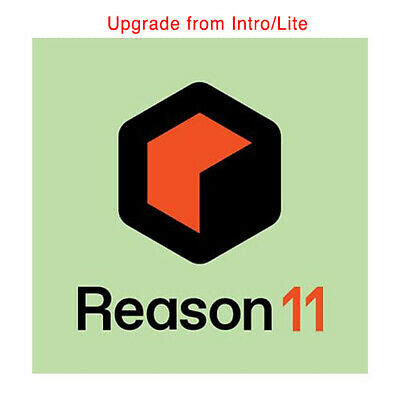 Reason Studios Reason 11 Upgrade From Lite Or Intro, Daw Software Download • 232.47£