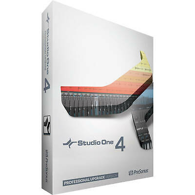 Presonus Studio One 4 Pro Upgrade From Artist/Producer Version 1/2/3 To Pro 4.0 • 214.54£