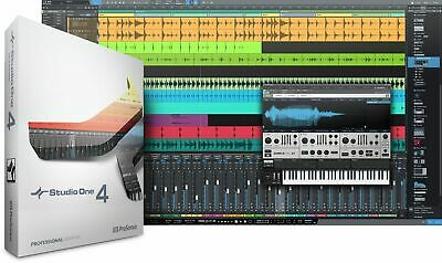 Presonus Studio One 4 Professional Upgrade From Pro/Producer Version 1/2/3 To 4 • 107.25£