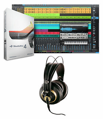 Presonus Studio One 4 Upgrade From Pro/Producer Version 1/2/3 To 4+AKG Headphone • 107.25£