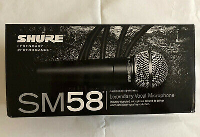 Legendary Dynamic Vocal  Microphone - Shure Sm58LC • 69.99£