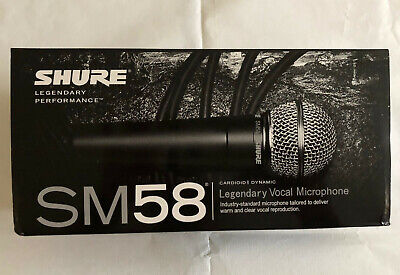 Legendary Dynamic Vocal  Microphone - Shure Sm58LC • 60£