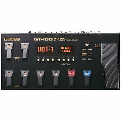 BOSS GT-100 Guitar Effects Processor With AC Adaptor • 359£