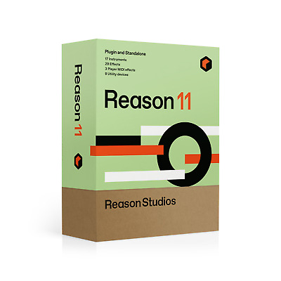 Reason Studios Re11est Reason 11 Student/teacher  - Scatola Boxed Software Music • 293.19£