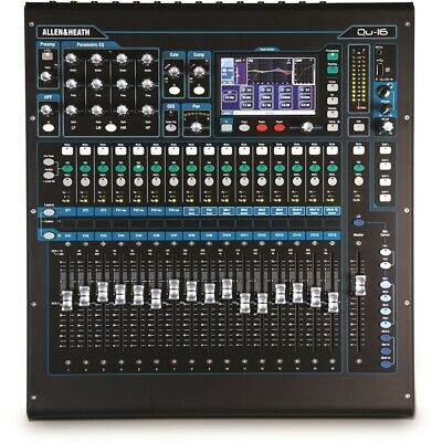 ALLEN & HEATH Qu-16 Chrome OUTLET FINE SERIE MIXER DIGITALI • 1,688.32£