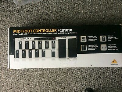 Behringer FCB1010 Foot MIDI Controller For Live Performance And Recording • 56.55£