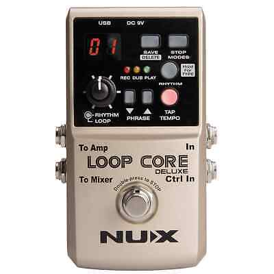 NUX Loop Core Deluxe 24-bit Looper Pedal Bundle • 109£