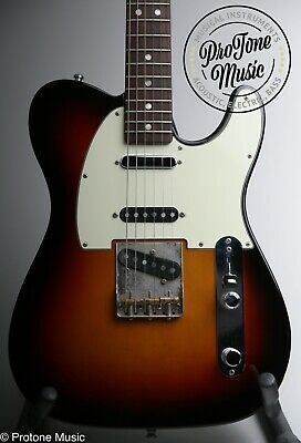 Fender American Vintage 60s Hot Rod Telecaster Limited Edition & Case & Tags