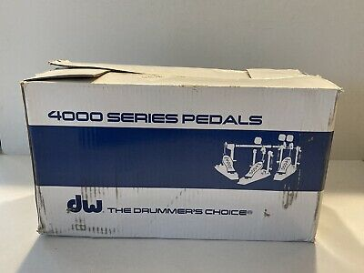 DW 4000 Series Double Bass Drum Pedal 4002 Super Condition In Box • 176.35£
