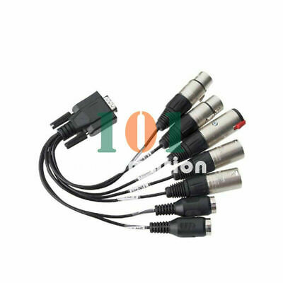 1Pcs New For Balanced Breakout Cable For RME HDSPe AIO / HDSP 9632 • 66.49£