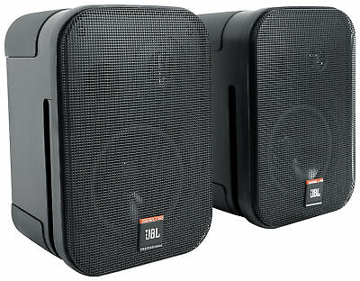 Pair JBL C1PRO Control 1 PRO Compact 5.25  Wall Mount Home/Commercial Speakers • 122.15£