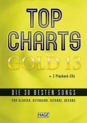 Top Charts Gold 13 (Mit 2 Cds) BOOKH NEW • 28.64£