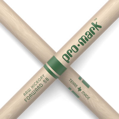 Drumsticks By Promark. Hickory TXR5BW The Natural Wood Tip Drumsticks