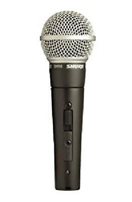 SHURE SM58S New Microphone W/ Holder Bag Japan • 136.54£